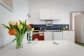 offene Küche inkl. Mikrowelle & Spülmaschine