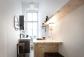 Küche mit Bistrotisch