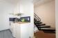 Küchenzeile 1 (OG) mit Treppe zum Dach