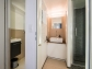 Bad mit Dusche + separatem WC (UG)